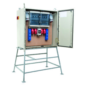 kWh-meterkast 125A 2x63/5 2x32/4 2x32/5 6xschuko