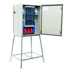 kWh-meterkast 80A 1x 63/5 3x 32/5 6x schuko